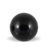 Onyx Onyks rund sort sten