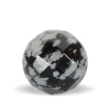 Facetteret snowflake Obsidian
