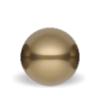 10mm Swarovski Crystal Antique brass