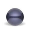Lilla Swarovski perle - Dark Purple Swarovski pearl