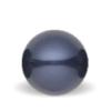 Night Blue Swarovski pearl - Mørk blå Swarovski perle