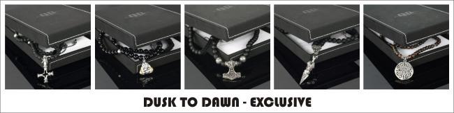 Eksklusive smykker Dusk to dawn halskæder i sølv