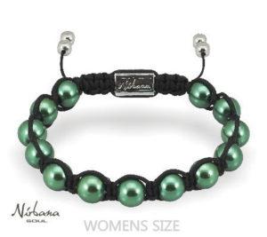 Grønt magnetarmbånd til kvinder