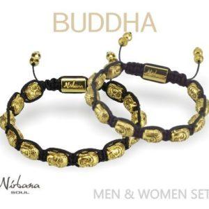 M & K Buddha bracelet set