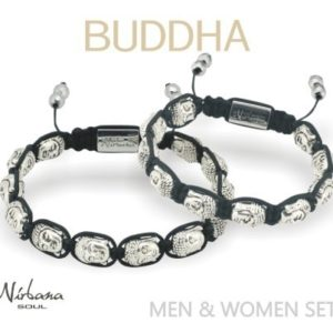 Buddha armbånd sæt Mand & Dame