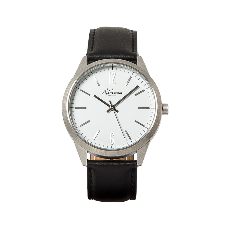 Image of   Classic Delux Silver/Black Ur + Golf armbånd
