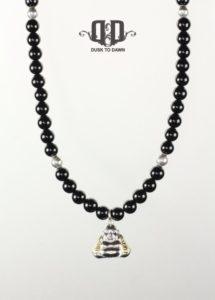DtD Sølv Buddha halskæde