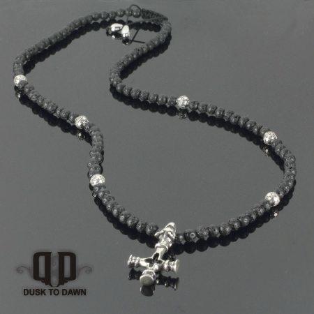 Image of   DtD Viking kors halskæde