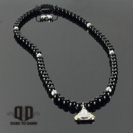 DtD Sølv Buddha halskæde 1