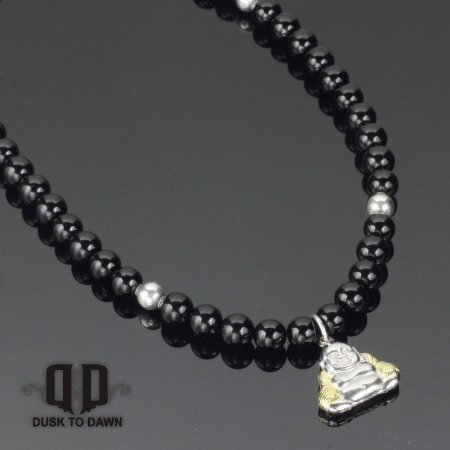 Image of   DtD Sølv Buddha halskæde