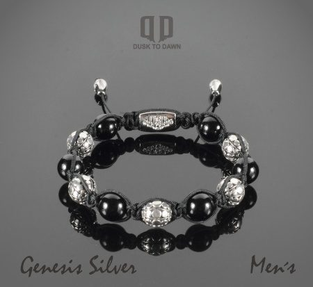 Image of   Dusk to Dawn armbånd - Genesis Silver