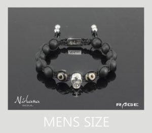 Skulls - Rage armbånd