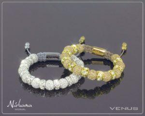 Venus silver armbånd