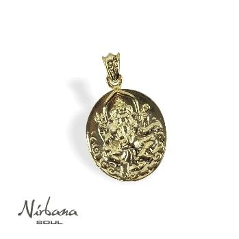 Ganesha mønt vedhæng