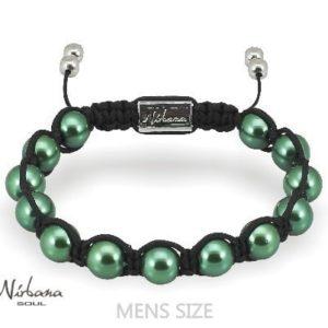 Magnetarmbånd - Mørkegrøn