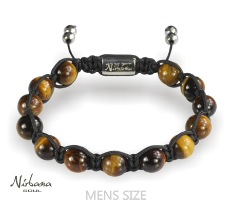 Image of   Tiger Eye armbånd