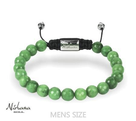 Image of   8mm jade Armbånd