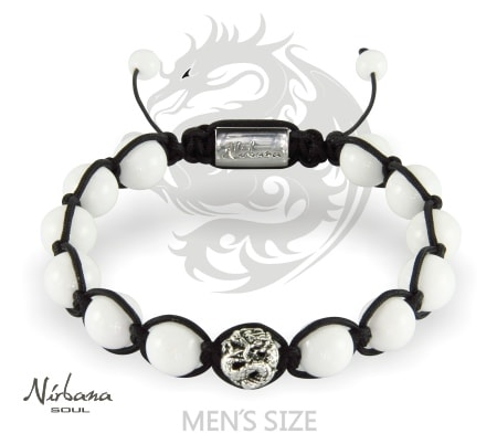 Image of   Naga White Armbånd
