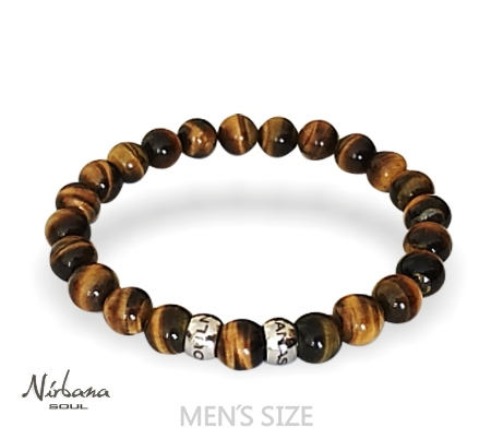 Image of   Classic Tiger-eye Armbånd