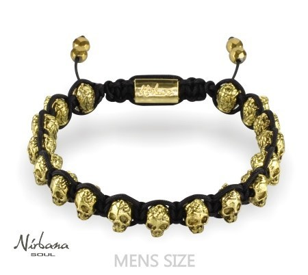 Image of   Skulls armbånd - Epic Gold