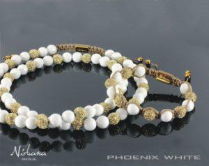Phoenix White halskæde - Man