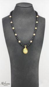 Ganesha halskæde - Black