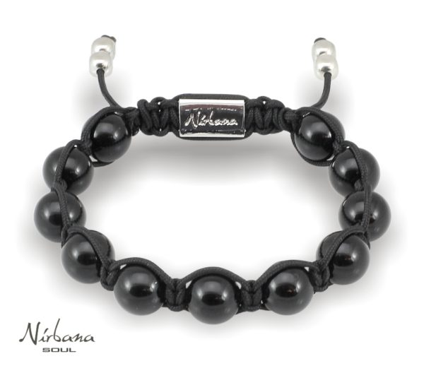 Black onyx armbånd
