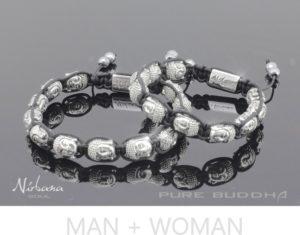 Buddha Silver Armbånd