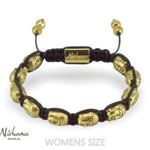 Buddha gold bracelet