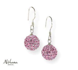 Øreringe 10mm Pink