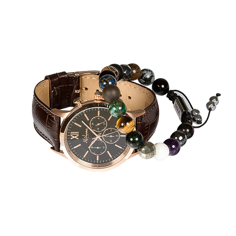 Image of   Exclusive Black Ur + Spirit Armbånd