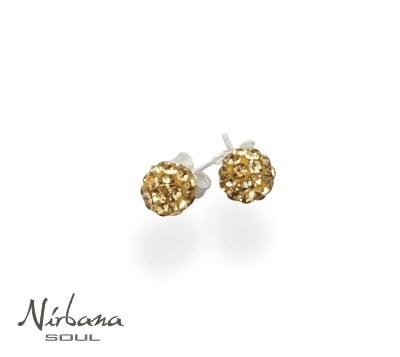 Øreringe 6 mm guld