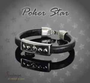 Savage Poker armbånd No. 34