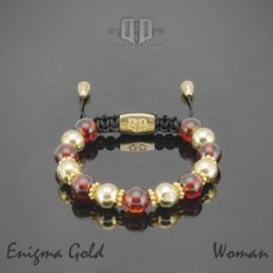 Dusk to Dawn armbånd - Enigma gold