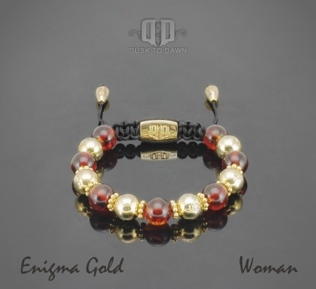 Image of   Dusk to Dawn armbånd - Enigma gold