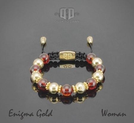 Dusk to Dawn armbånd - Enigma gold
