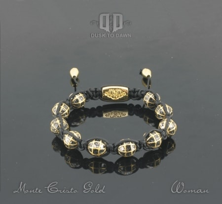 Image of   Dusk to Dawn armbånd - Monte Cristo Gold