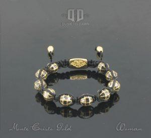Dusk to Dawn armbånd - Monte Cristo Gold